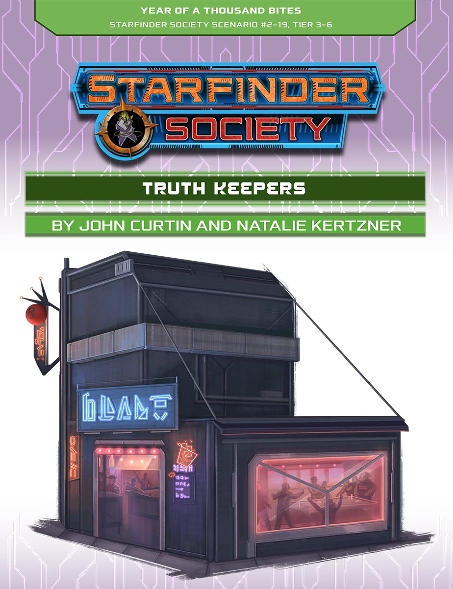 SFS 2-19: Truth Keepers cover art