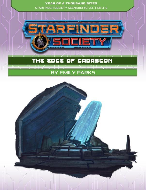 SFS 2-23: The Edge of Cadascon cover art