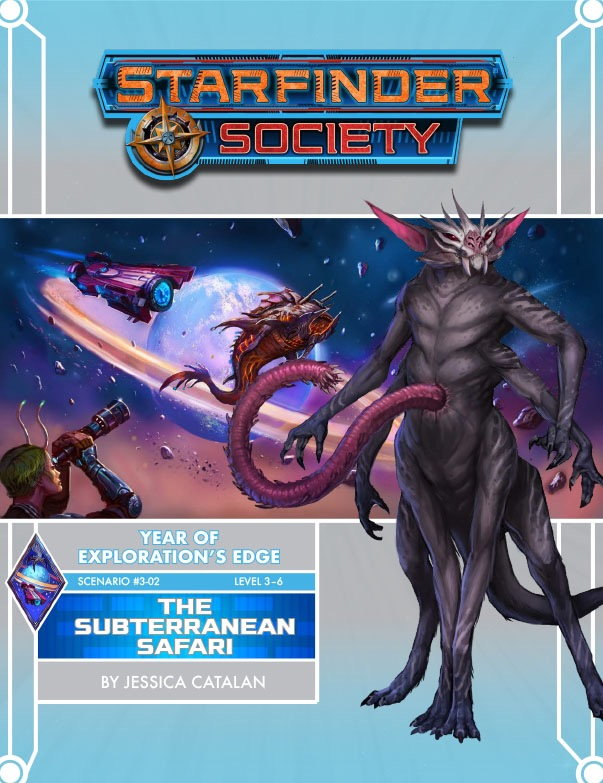 SFS 3-02: The Subterranean Safari cover art