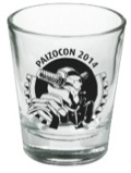 PaizoCon 2014 Shot Glass