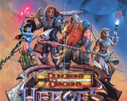 Paizo Com Dungeons Amp Dragons Heroes Poster