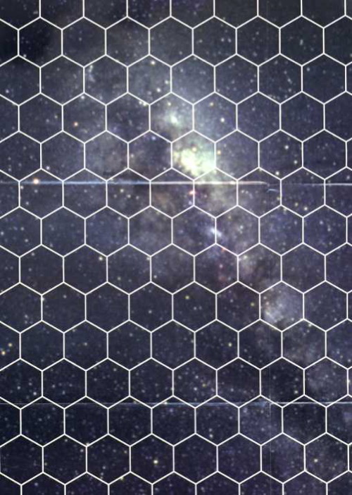 Star Wars Gamer: Starscape Hex Grid Poster Map