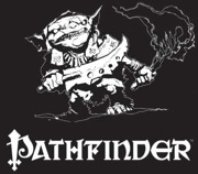 Pathfinder T-Shirt: Goblin (Black and White)