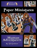 Battle! Studio Paper Minis: Human Adventurers PDF