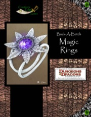 Buck-A-Batch: Magic Rings (4E) PDF