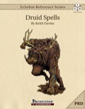 Echelon Reference Series: Druid Spells (PRD-Only) PDF