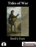 Tides of War: Bard/X Feats (PFRPG) PDF