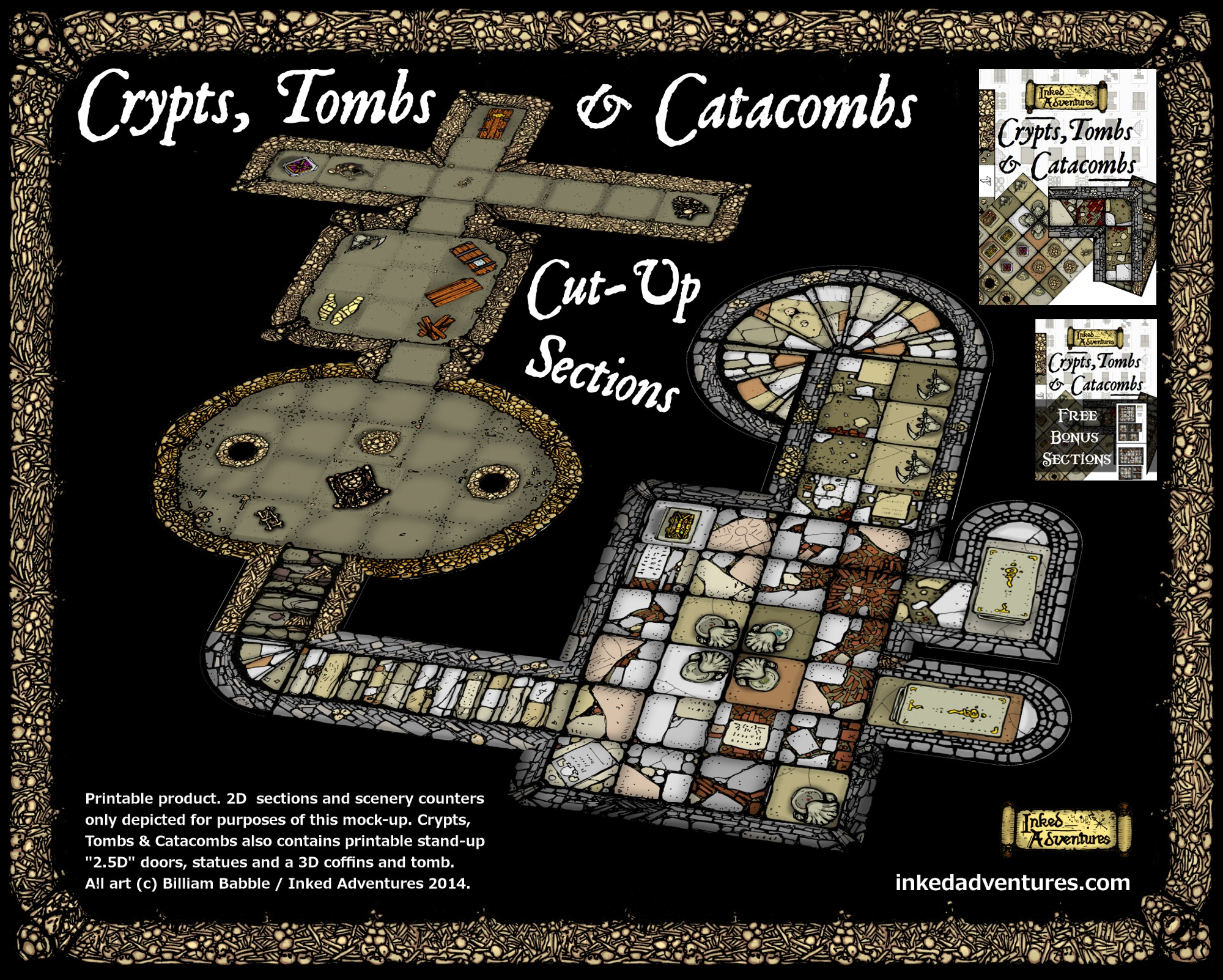 Paizo Com Crypts Tombs And Catacombs Cut Up Sections Pdf