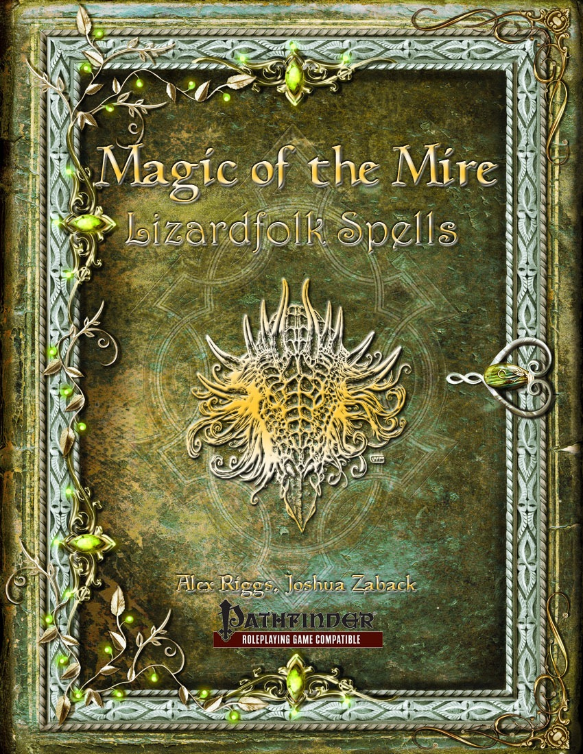 paizo com - Magic of the Mire: Lizardfolk Spells (PFRPG) PDF