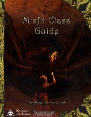 Misfit Class Guide (PFRPG) PDF