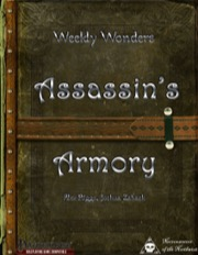 Weekly Wonders: Assassin's Armory (PFRPG) PDF