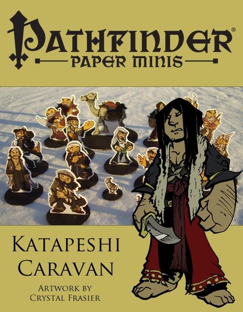 Pathfinder Paper Minis—Katapeshi Caravan PDF