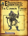 Adventurer Essentials: The Common Tongue (PFRPG) PDF