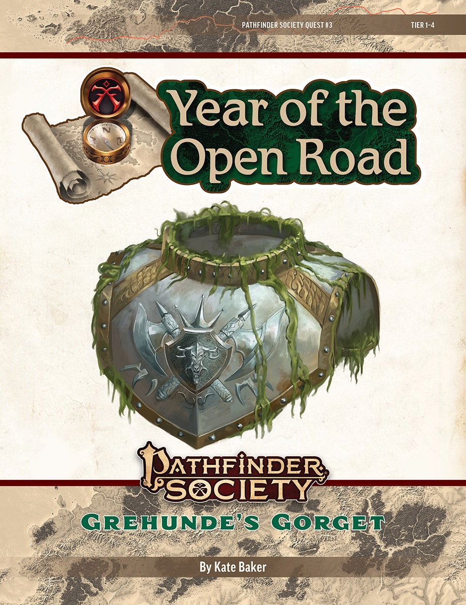 PFS2 Quest #3: Grehunde's Gorget cover art