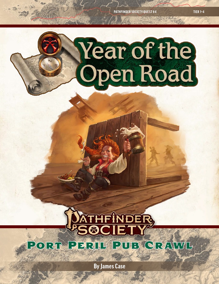 PFS2 Quest #4: Port Peril Pub Crawl cover art