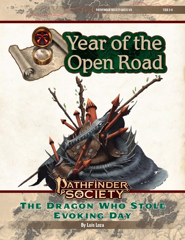 PFS2 Quest #5: The Dragon Who Stole Evoking Day cover art