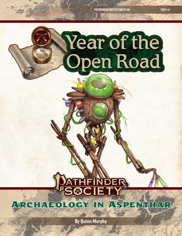 PFS2 Quest #6: Archeology in Aspenthar cover art