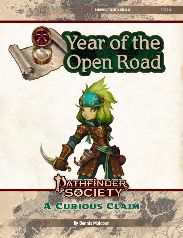 PFS2 Quest #7: A Curious Claim cover art