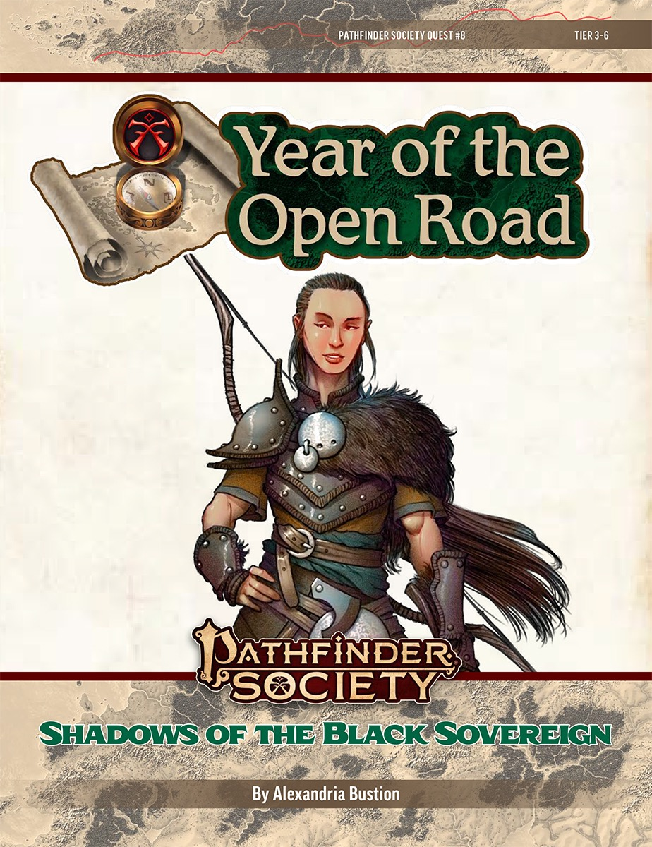 PFS2 Quest #8: Shadows of the Black Sovereign cover art