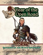 Pathfinder Society Quest #8: Shadows of the Black Sovereign