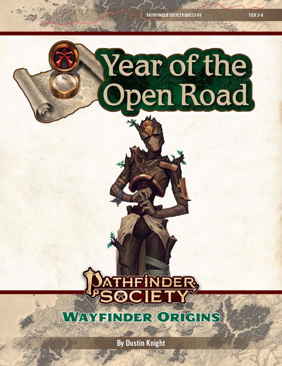 PFS2 Quest #9: Wayfinder Origins cover art
