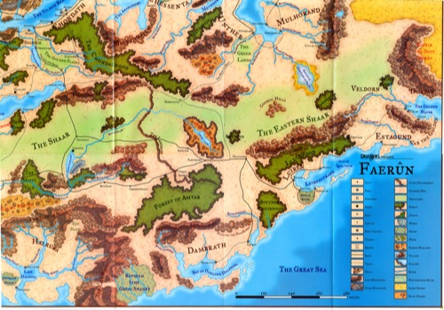 Paizo forgotten realms poster map lower right quadrant forgotten realms poster map lower right quadrant gumiabroncs Image collections