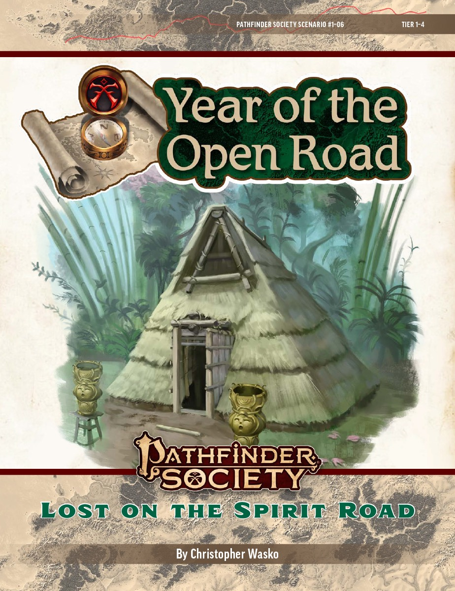 PFS2 1-06: Lost on the Spirit Road cover art