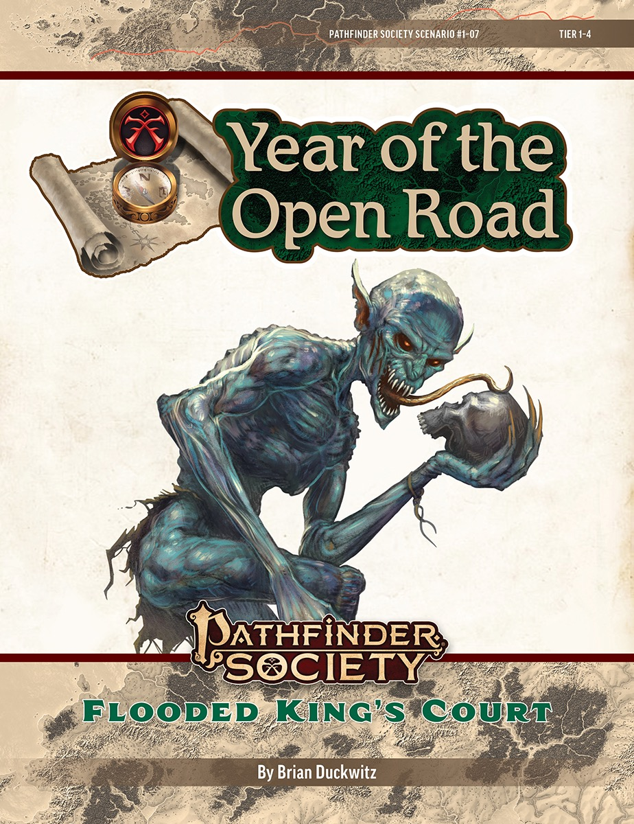 PFS2 1-07: Flooded King's Court cover art