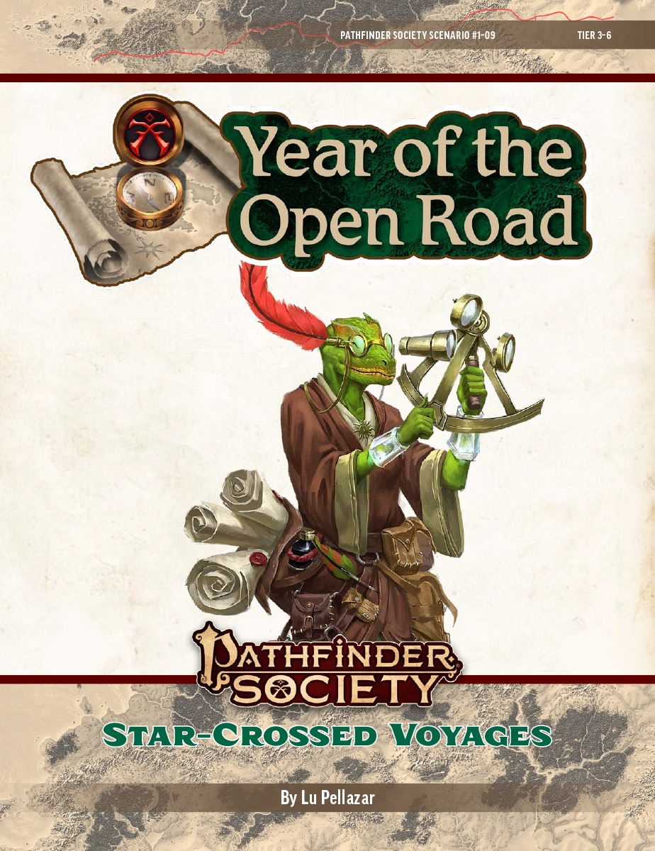 PFS2 1-09: Star-Crossed Voyages cover art