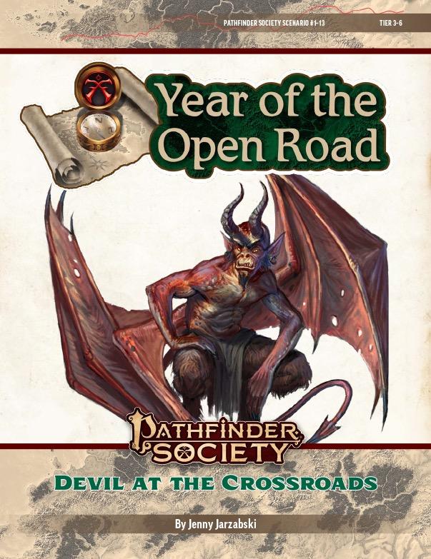 PFS2 1-13: Devil at the Crossroads cover art