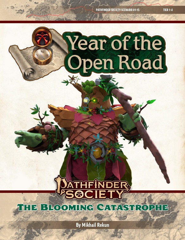 PFS2 1-15: The Blooming Catastrophe cover art