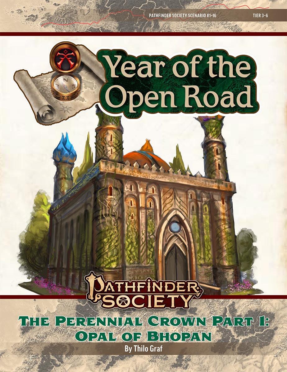PFS2 1-16: The Perennial Crown, Part 1: Opal of Bhopan cover art