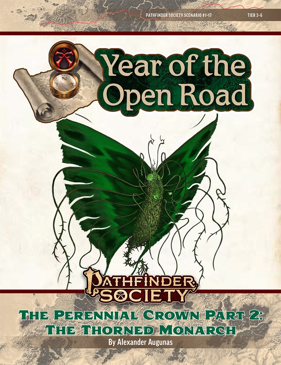 PFS2 1-17: The Perennial Crown, Part 2: The Thorned Monarch cover art