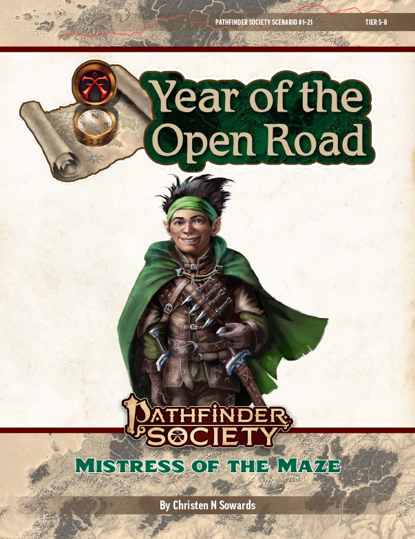 PFS2 1-21: Mistress of the Maze cover art