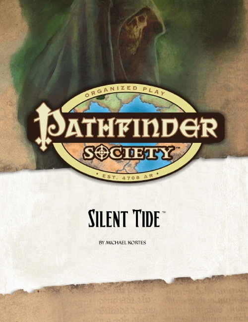 Cover of Pathfinder Society Scenario #1: Silent Tide