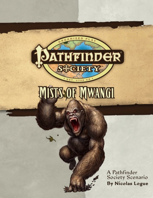 Cover of Pathfinder Society Scenario #5: Mists of Mwangi