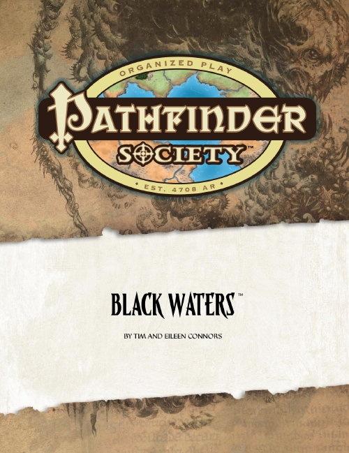 Cover of Pathfinder Society Scenario #6: Black Waters