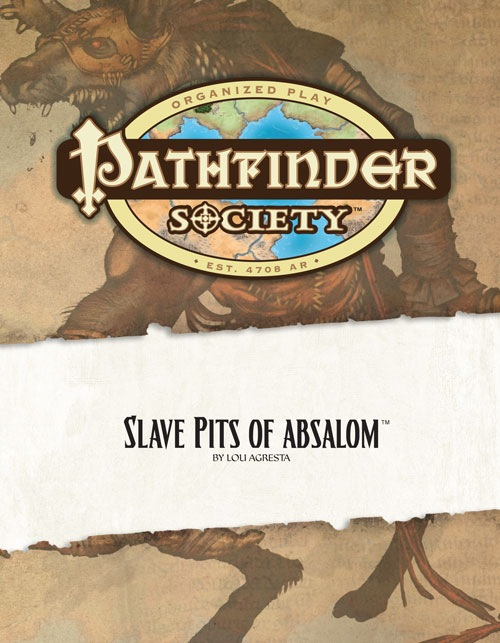 Cover of Pathfinder Society Scenario #8: Slave Pits of Absalom