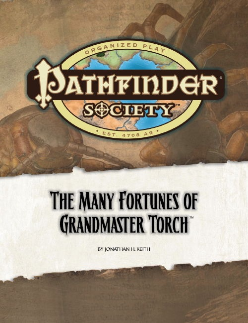 Cover of Pathfinder Society Scenario #14: The Many Fortunes of Grandmaster Torch