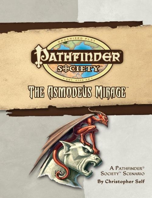 Cover of Pathfinder Society Scenario #15: The Asmodeus Mirage