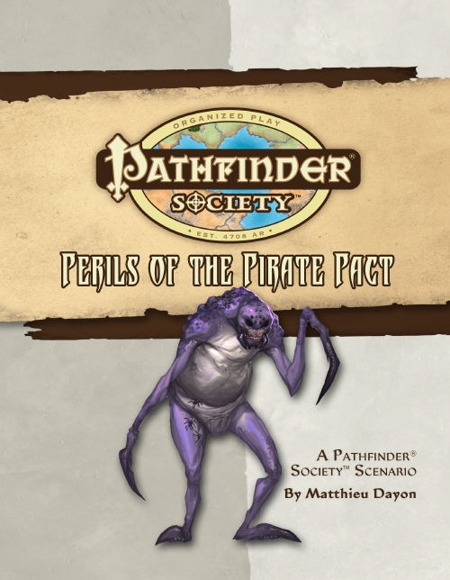 Cover of Pathfinder Society Scenario #17: Perils of the Pirate Pact