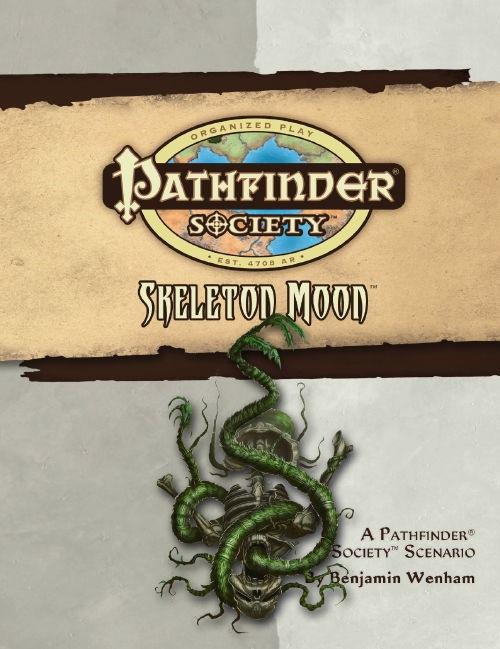 Cover of Pathfinder Society Scenario #19: Skeleton Moon
