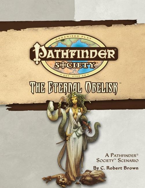 Cover of Pathfinder Society Scenario #21: The Eternal Obelisk