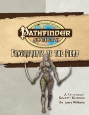 Pathfinder Society Scenario #22: Fingerprints of the Fiend (OGL) PDF