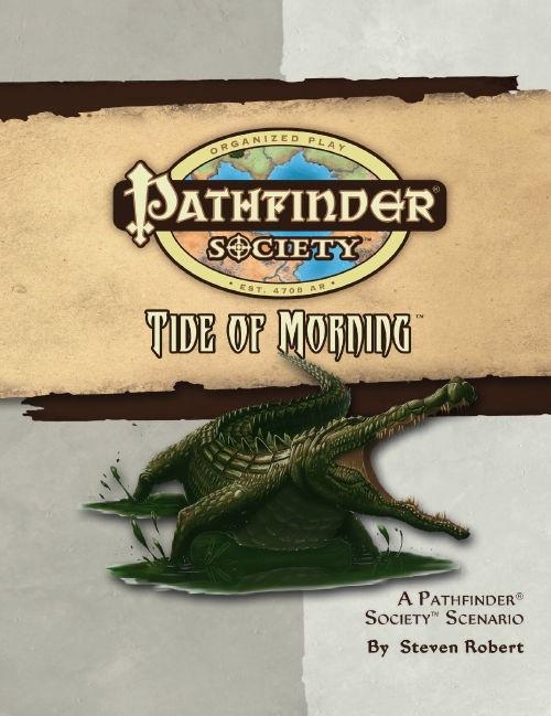 Cover of Pathfinder Society Scenario #23: Tide of Morning