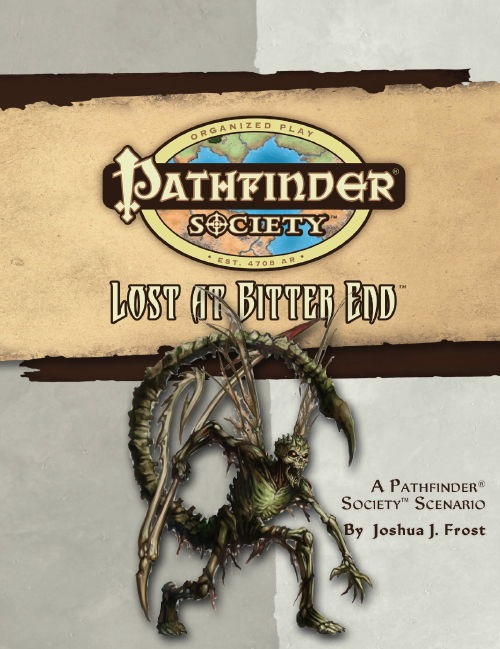 Cover of Pathfinder Society Scenario #26: Lost at Bitter End