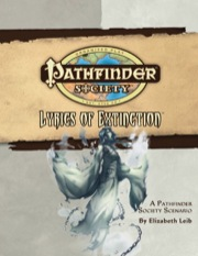Pathfinder Society Scenario #28: Lyrics of Extinction (OGL) PDF