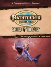 Pathfinder Society Scenario #31: Sniper in the Deep (PFRPG) PDF