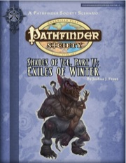 Pathfinder Society Scenario #2-17: Shades of Ice—Part II: Exiles of Winter (PFRPG) PDF