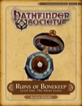 Pathfinder Society Special: Ruins of Bonekeep—Level 1: The Silent Grave (PFRPG) PDF